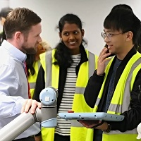 Educational visit of students of WMG, University of Warwick