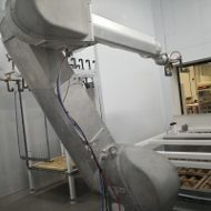 Robotic spray booth for panoramic frames